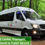 Bus Service from Cordal, Scartaglin, Castleisland to Tralee