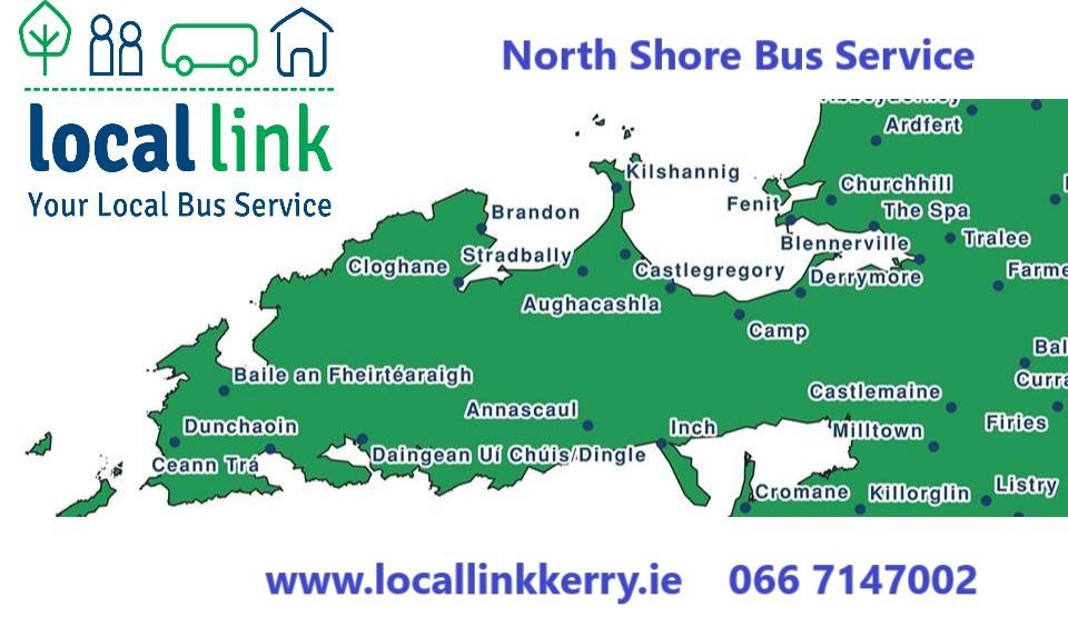 North Shore Bus Service – Tralee – Brandon – Tralee – Local
