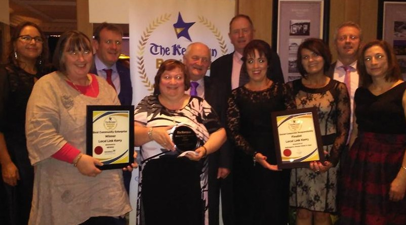 Local Link Kerry - Staff Board Awards Night October 2017