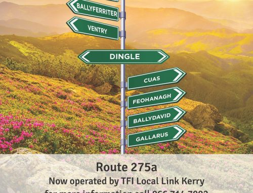 TFI Local Link Kerry – operating Route 275A Bus Service