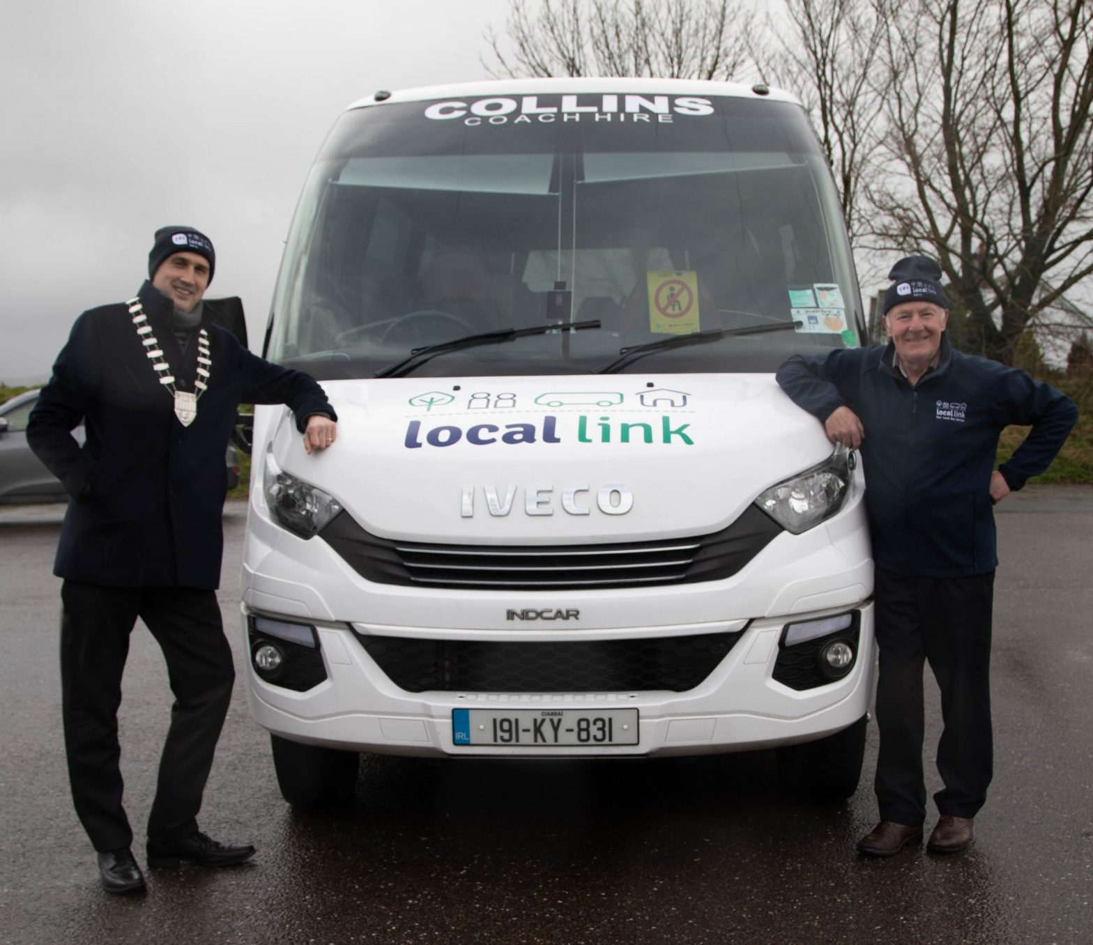 Mayor Patrick O' Connor - Scarteen & Donal Nelligan, Collins Coach Hire