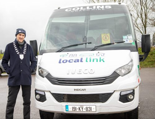 Mayor pays tribute to TFI Local Link Kerry Bus Drivers