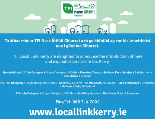 TFI Local Link Kerry to Expand Bus Services into Dingle Daingean Uí Chúis & Surrounding Areas